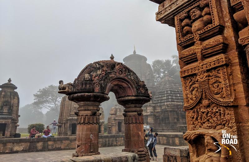 Early morning magic at Mukteshwar Temple, Bhubaneshwar