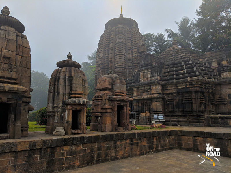 Plethora of small temples in the Mukteswar Temple complex, Bhubaneshwar