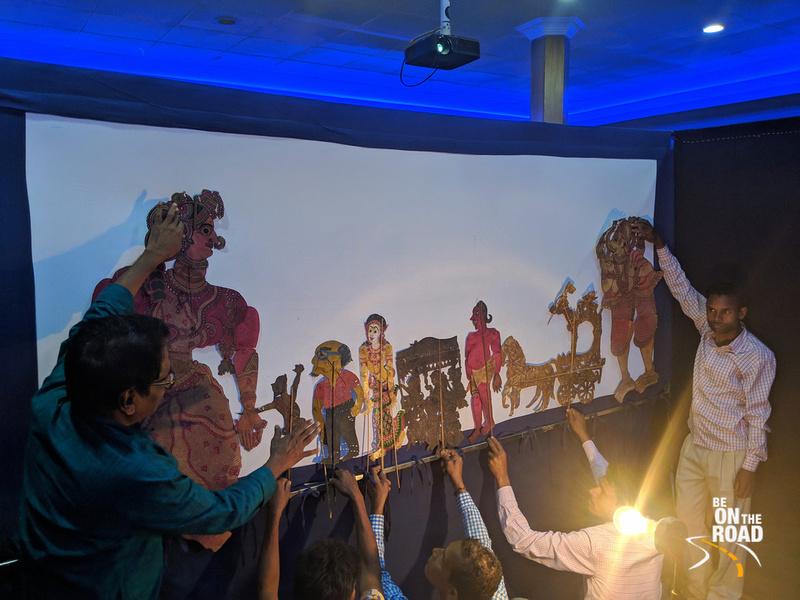 Shadow puppet play of Odisha