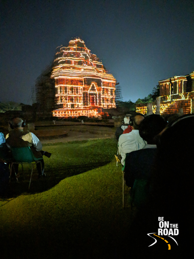 Light and Sound Show at Konark Sun Temple, Odisha