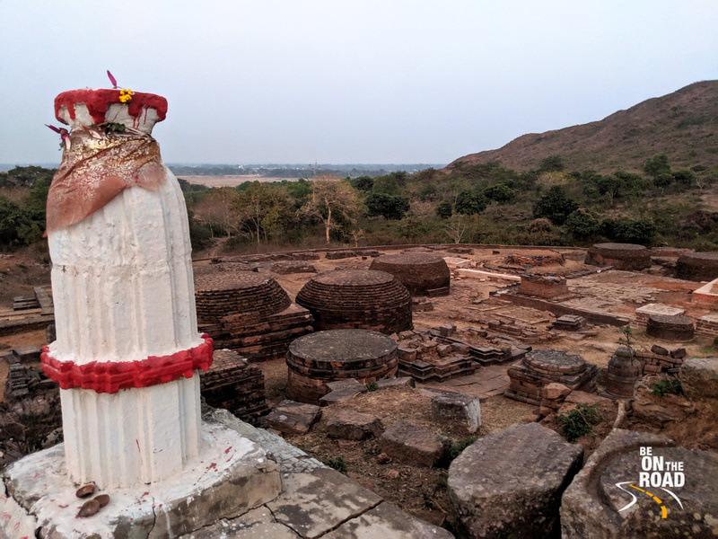 Ruins of stupas and viharas of 7th century Udaygiri Buddhist Civilization, Odisha