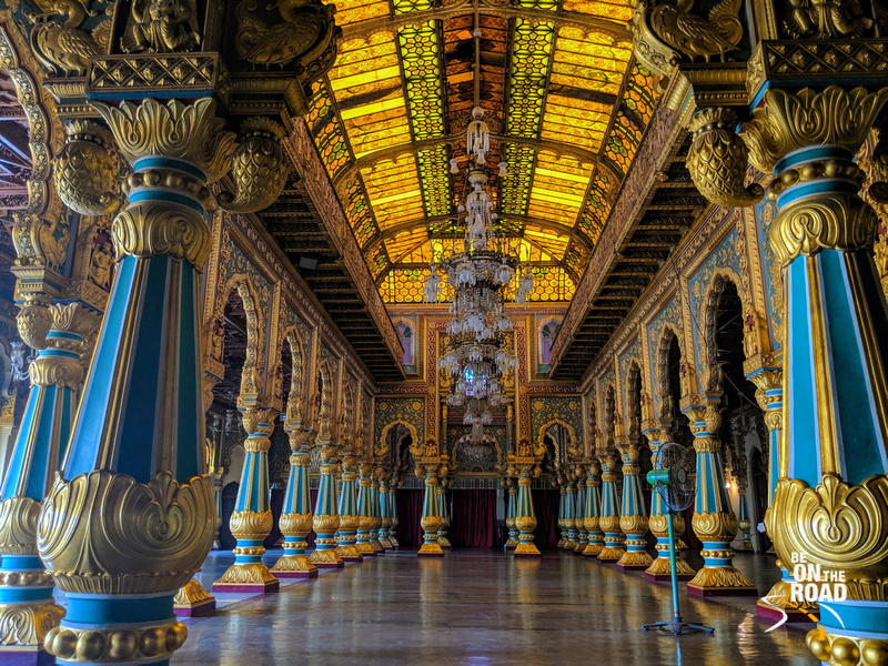 The absolutely stunning interiors of Mysore Palace