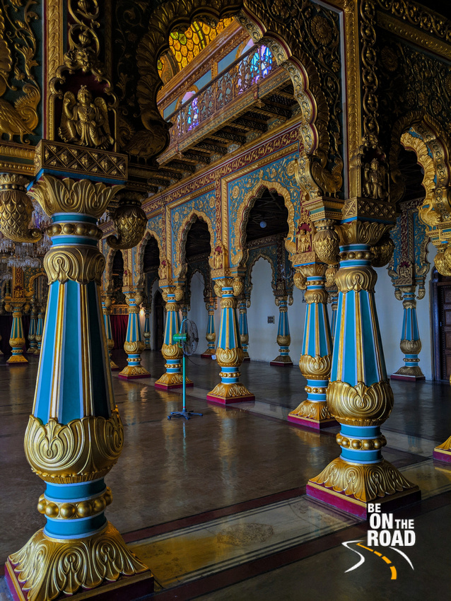 Color, riches and beauty galore inside Mysore Palace