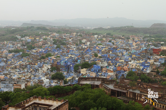 The blue view from Mehrangarh fort, Jodhpur