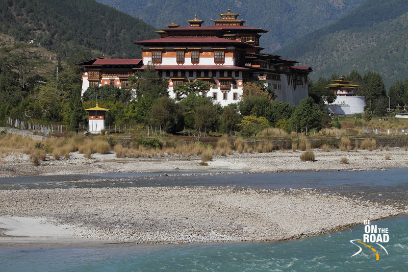 The mighty Punakha Dzong of Bhutan