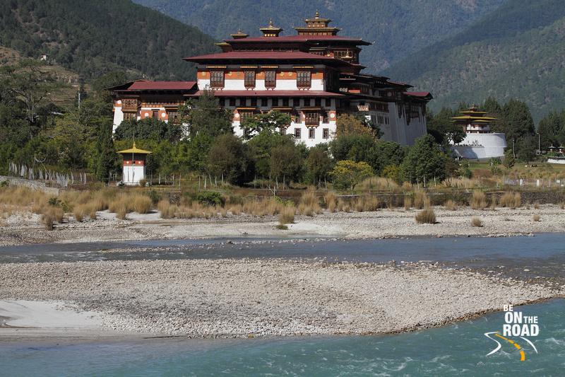 The mighty Punakha Dzong of Bhutan