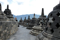 Borobudur Temple - the largest Buddhist temple in the world