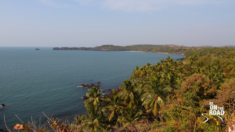 Goa's beautiful coastline