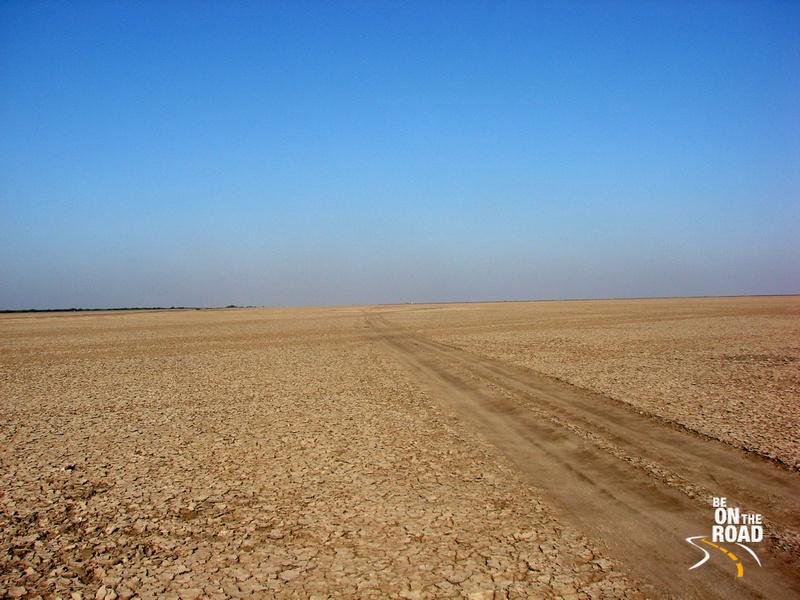 The largest salt desert in the world - Rann of Kutch, Gujarat, India
