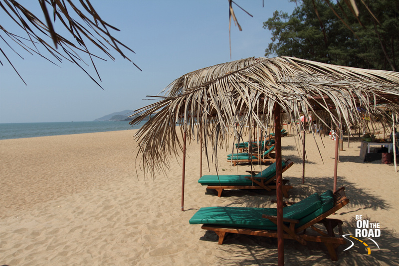 The Sun, the Beach and the golden sands at Rajbaga Beach