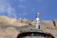 Om Mani Padme Hum, a feature of Ladakh