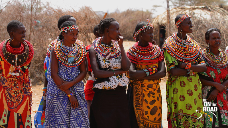 Beautiful Samburu Women: All you need to do is offer the chief of the tribe 2 cows and you can get any of them as your bride :-)