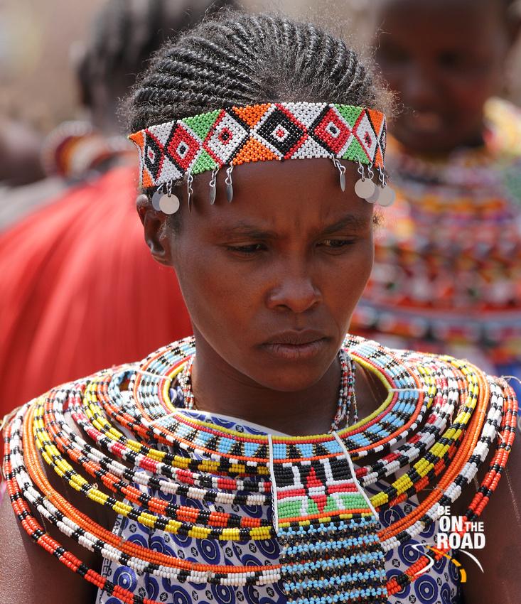 A Beadwork Samburu Model