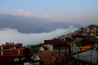 Rising above the clouds - sunrise at Sapa, Vietnam