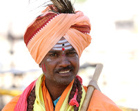 Local artist from Hampi and his ensemble