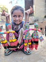 Those innocent eyes - Kid from Kutch, Gujarat