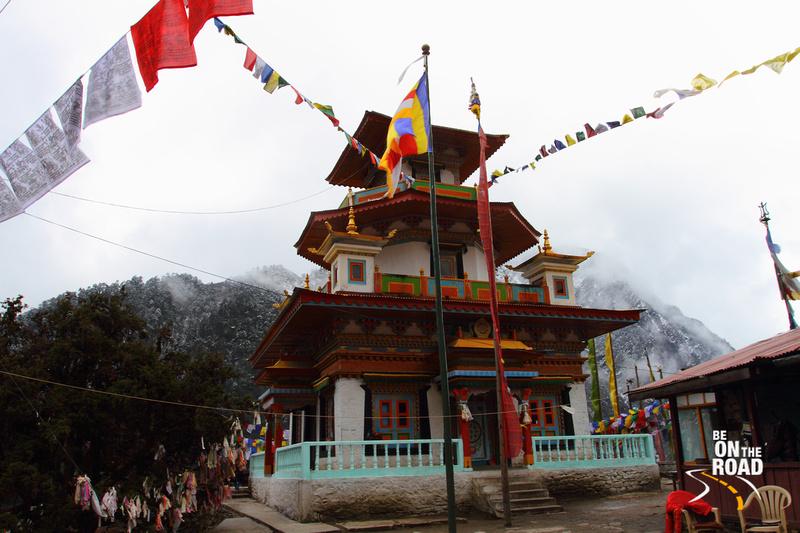T Gompa near Sangetsar Lake