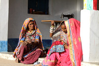Kutchi women and their colorful weaves