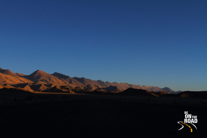 Sunset at Hanle