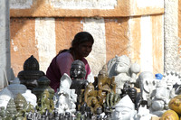 Souvenirs for sale at Shravanabelagola