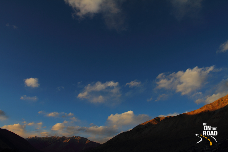 Evening sky at Tangtse