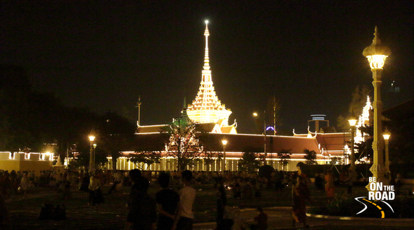 The Silver Pagoda at Phnom Penh, Cambodia