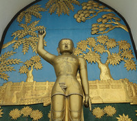 Buddha Statue at World Peace Pagoda, Pokhara - 2