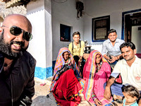 Selfie with a Kutchi Family