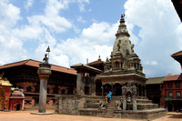 Indian style temple at Bhaktapur, Nepal