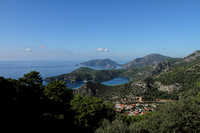 Views like this adorn the Lycian Way