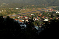 Mae Hong Son town and the aerodrome