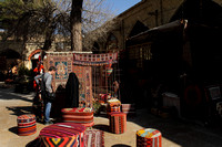 A street moment from the carpet bazaars of Shiraz, Iran