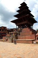 Tiered Architecture of Temple at Bhaktapur, Nepal
