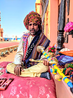 Rawan Hatha Musician from Rann Utsav Tent City, Kutch, Gujarat