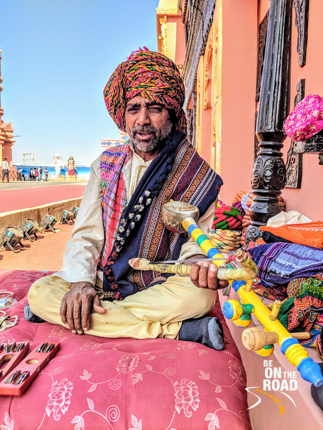 Rawan Hatha Musician from Rann Utsav Tent City, Kutch, Gujarat