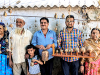 Hussain Family and their musical bell creations