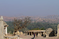 Hemakuta hill temples, Hampi, Karnataka, India