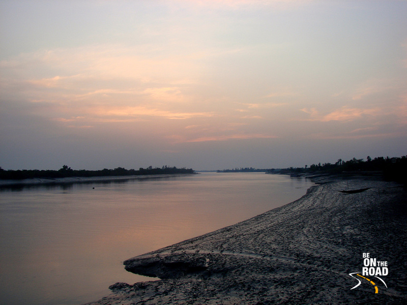 Its sunset time at the Sunderbans, West Bengal, India