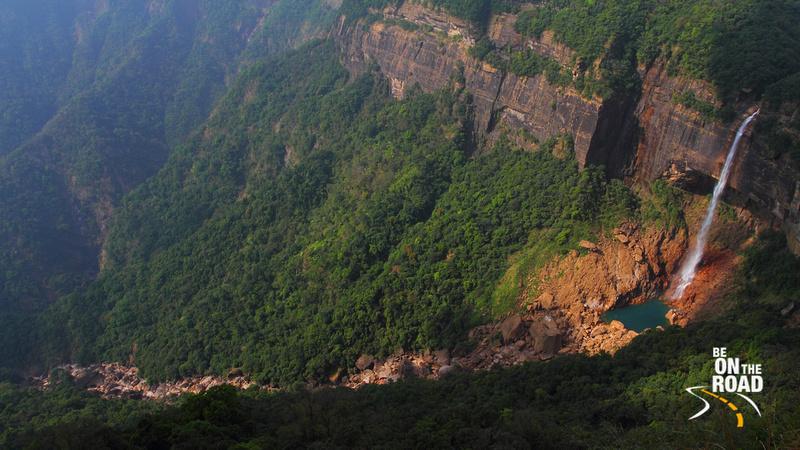 Noh Kalikai Falls, Cherrapunji, Meghalaya