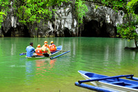 Entering the world's longest underground river