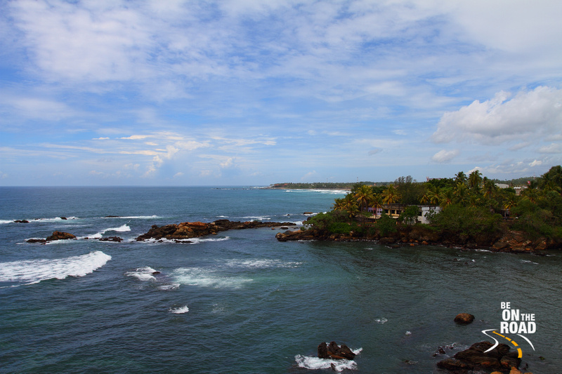 The picturesque Galle coastline