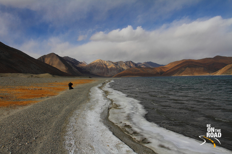 Capturing the Pangong Tso beauty in the lens