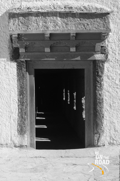 A pathway inside Lamayuru Monastery