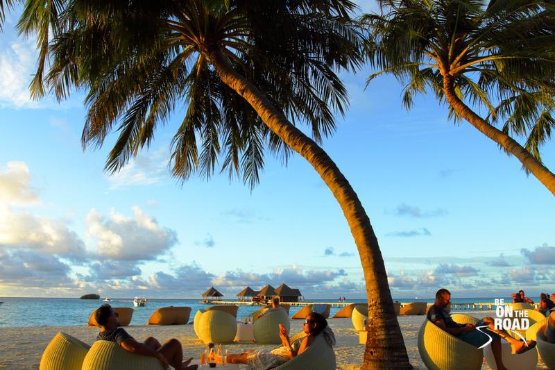 Sunset at Club Med Kani, Maldives