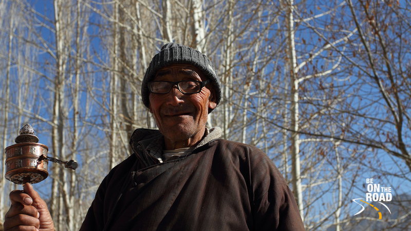 An elderly Buddhist gentleman from Ladakh, India