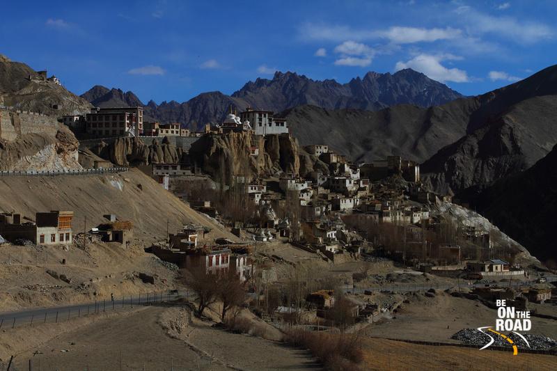 Lamayuru town and Lamyuru Monastery