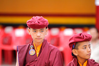 Young Monks of the Drukpa lineage...one can identify them by their caps