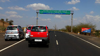 Approaching the Madhya Pradesh Border