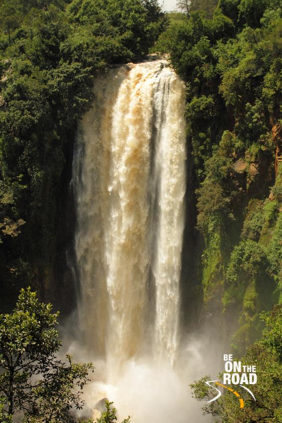 The 243 feet Thomson's Falls at Nyahururu, Kenya