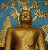 Buddha Statue at World Peace Pagoda, Pokhara - 3
